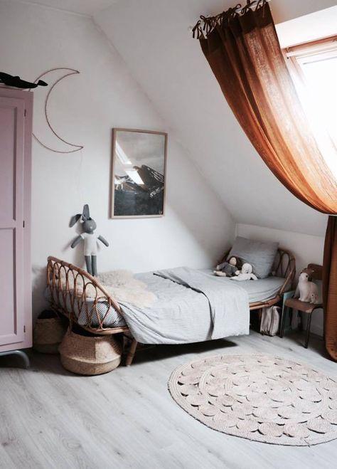 gordijn inspiratie voor een zolderkamer en dakraam