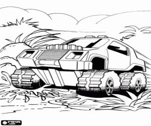 Free Hot Wheels Monster Truck In Action Coloring And Printable Page Monster Truck Coloring Pages Cross Coloring Page Coloring Pages