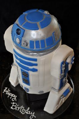What an amazing cake… some geek out there had to love this!