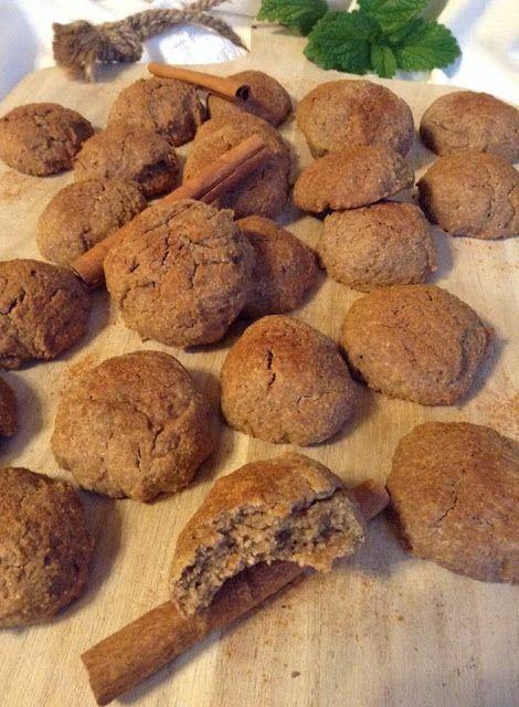 9bd2405e5 Panelinha de Sabores: Biscoitos de canela (saudáveis | Cookies ...