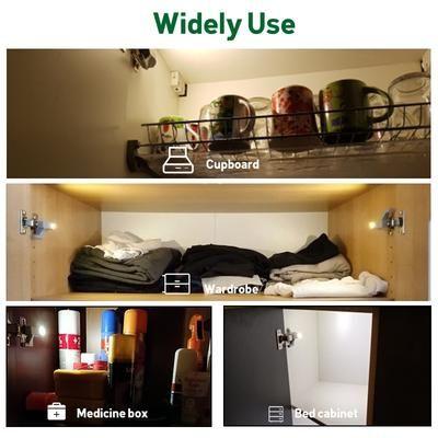 LED Cabinet Light for Wardrobe Cupboard Closet Night Light Bedroom Home