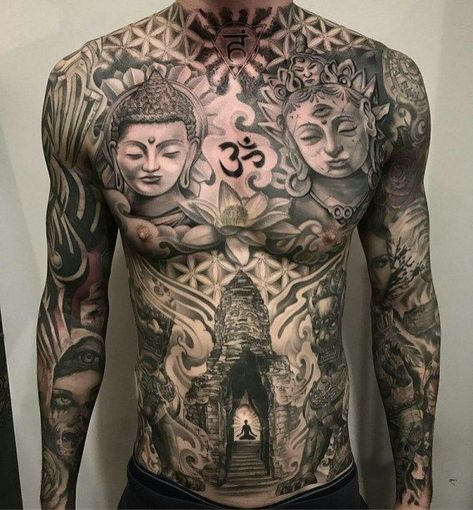 awesome Tattoo Trends - Bodysuit tattoos design ideas for all 7