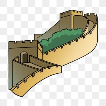 Hand Painted Tourism Scenic Building Great Wall Of China Illustration Tourism Vacation Png Transparent Clipart Image And Psd File For Free Download Great Wall Of China Scenic Tourism