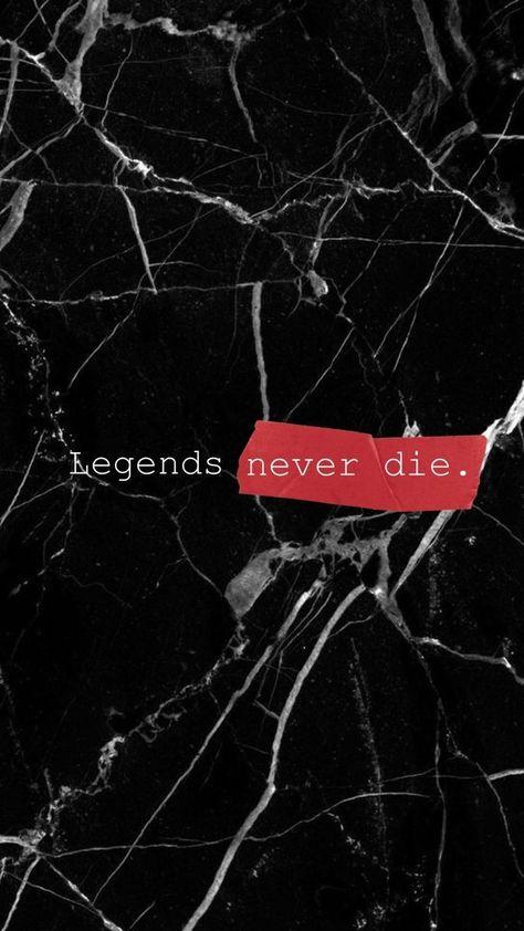 Legends Never Die Rap Wallpaper Die Wallpaper Hype Wallpaper