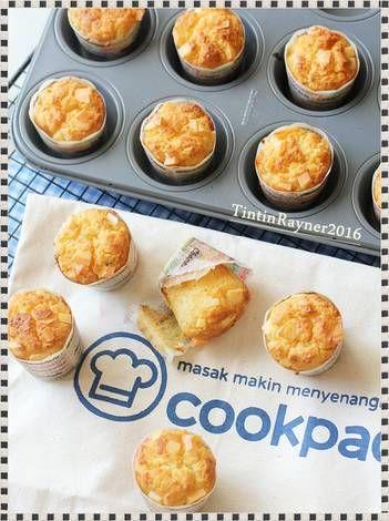 Resep Cheese Custard Muffin The Best Cheese Muffin Ever Oleh Tintin Rayner Resep Makanan Makanan Ringan Manis Makanan Manis