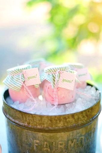 How To Use Wedding Favor Sayings To Personalize Your Wedding Favor Choices Mason Jars Party Ice Cream Party