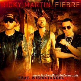 Free Download Ricky Martin Fiebre Latest Song Ringtone To Your Mobile Phone From Android Mobile Zone Ricky Martin Songs Sony Music Entertainment