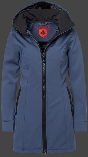 Wellensteyn Airlight Silkyhitec Moonlightblue Black Damen Winter Jacken With Images Nike Jacket Jackets Athletic Jacket