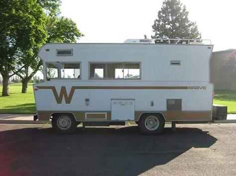1972 Winnebago Brave D-18 | Winnebago Brave | Transit camper, Camper