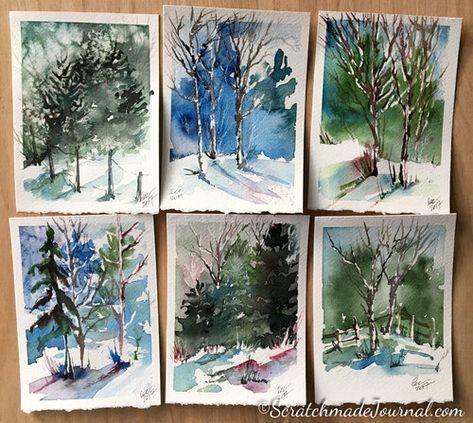 Tracee Murphy In 2020 Watercolor Art Watercolor Landscape Art