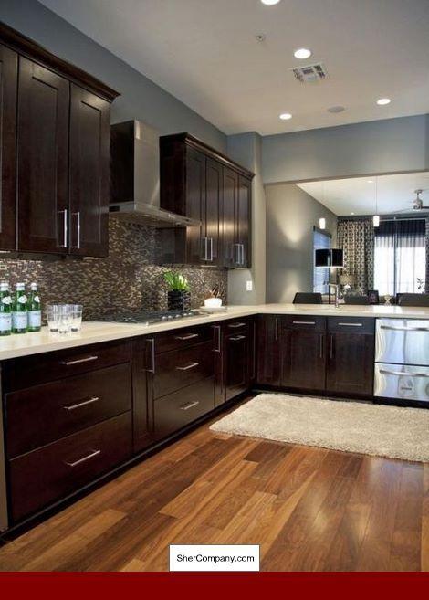 Underlayment Gebruikt Hardwood And Underlayment Easy Kitchen Updates Updated Kitchen Espresso Kitchen Cabinets