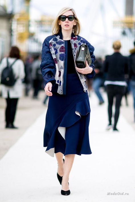 da2ee015d318 Уличная мода  Уличная мода Парижа на неделе моды осень-зима 2016-2017