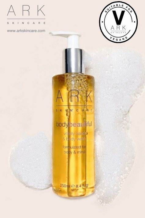 Luxurious vegan hand  body wash hydrates skin as it cleanses, with 100% natural fresh fragrance. Click through to buy.