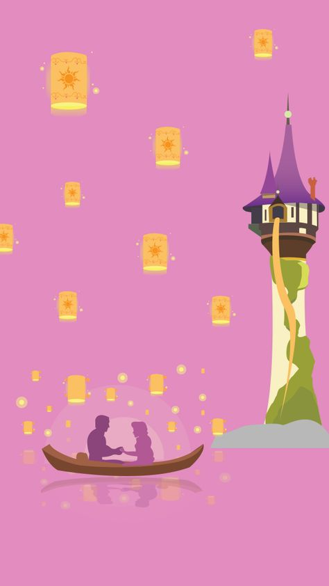 Fonds d'écran Disney - Raiponce - Crecre