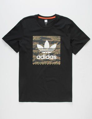 the best attitude 84990 73362 ADIDAS Camo Blackbird Mens T-Shirt