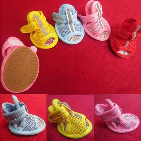 Mesh Summer Dog Sandals - Dog Shoes And Dog Booties - 1
