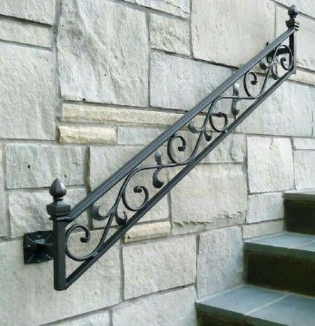 20 Ideas Wrought Iron Stairs Projects Stairs Iron Stair