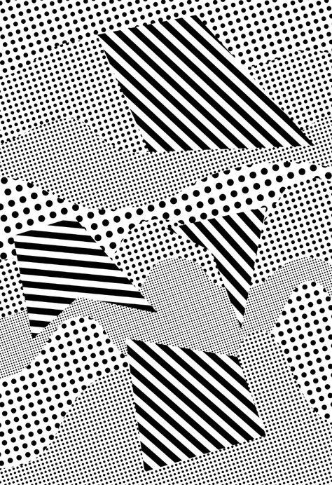 Géométrique, noir, blanc opart графика, графический дизайн и дизайн.