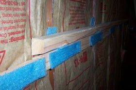 Soundproof Your Garage Walls Using My Cleat Method With Images Sound Proofing Garage Walls Wall