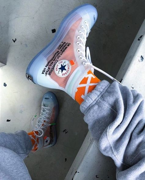 How to get Nike Off-White Cas 70 Hi / OW shoes online . - Perfect Nike Off-White - Shoes Moda Sneakers, Casual Sneakers, Sneakers Fashion, Fashion Shoes, Shoes Sneakers, Converse Fashion, High Top Sneakers, White Sneakers, Kicks Shoes