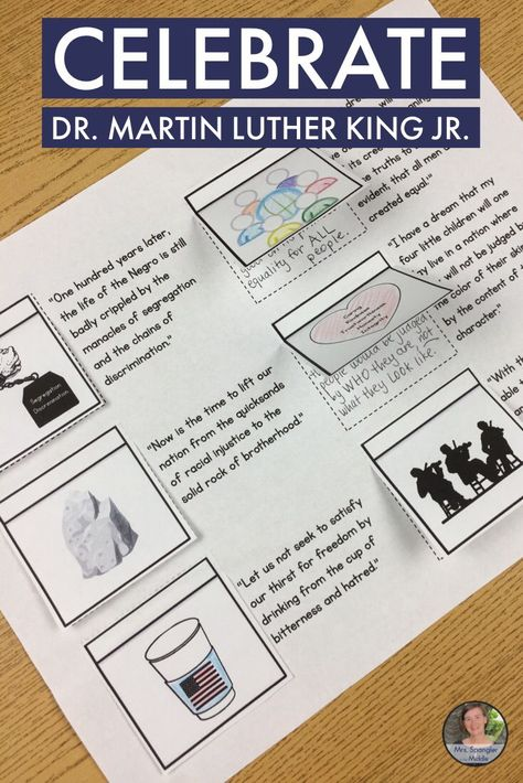 List Of Pinterest Martins Luther King Jr Activities Middle School