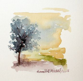 Painting Tumblr Watercolour 23 New Ideas Watercolor Landscape
