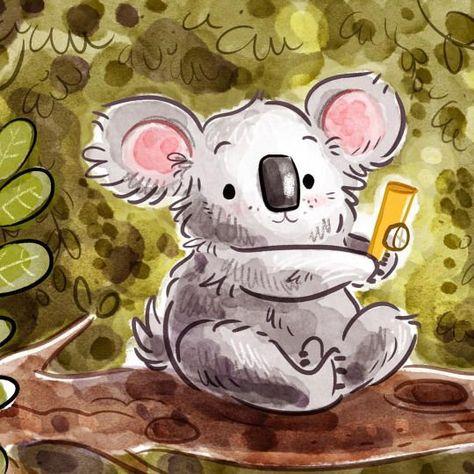 Sammi she is soooo cute(See: sammi the koala in YouTube.!)❤❤❤