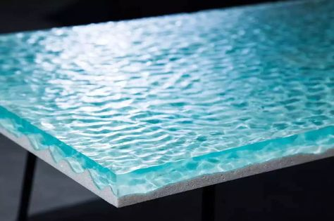 New Marble and Resin Lagoon Coffee Tables by Alexandre Chapelin ...