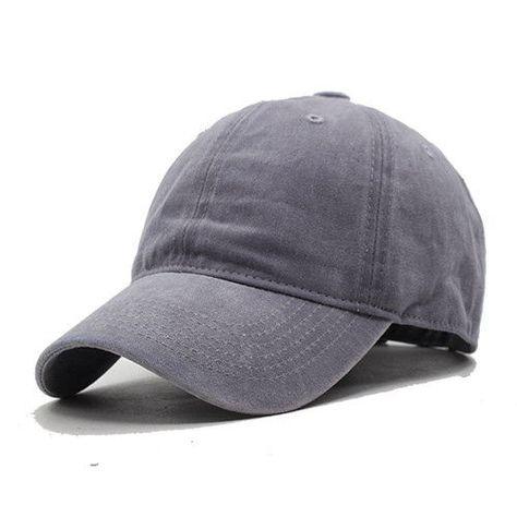 cc8d066f4b3 Women Snapback Caps Men Baseball Cap Hats For Men Casquette Plain Bone  Gorras Cotton Washed Blank Vintage Baseball Caps Sun Hat  SunHatsForWomen
