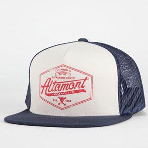 ALTAMONT Cutty Mens Trucker Hat  altamont  trucker  truckerhat  altamont   navyblue  skate 11b21547cc2