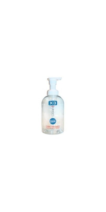 X3 Clean Germ Attack Hand Sanitizer Foam Hand Sanitizer