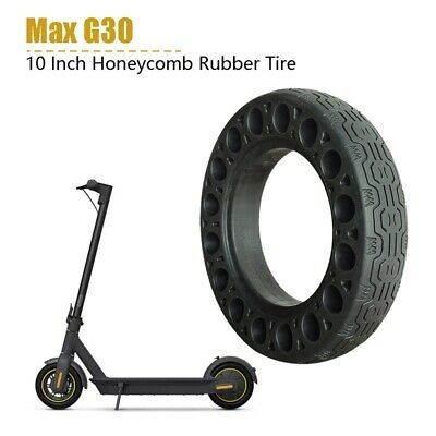 Details About 2pcs 10 Inch Rubber Solid Tires For Ninebot Max G30 Electric Scooter Honeyc N3e9 In 2020 Electric Scooter Scooter Biking Workout