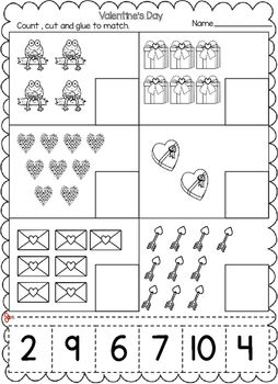 Pin On February Worksheets