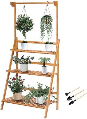Affordable Patio Decor Ideas In 2021 Hanging Plants Plant Shelves Plant Stand Indoor