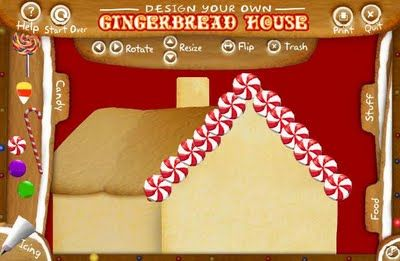 Design Your Own Gingerbread House (Highlights Website)