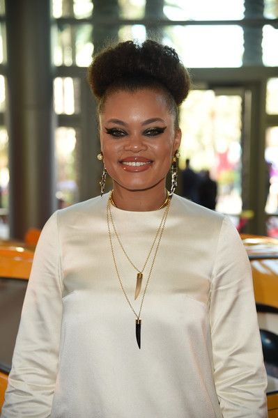 Singer Andra Day attends the premiere of Disney and Pixar's 'Cars 3' at Anaheim Convention Center.