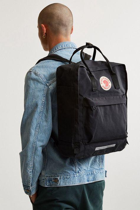 Urban Outfitters Fjallraven Kanken Big Backpack - Dark Grey One Size