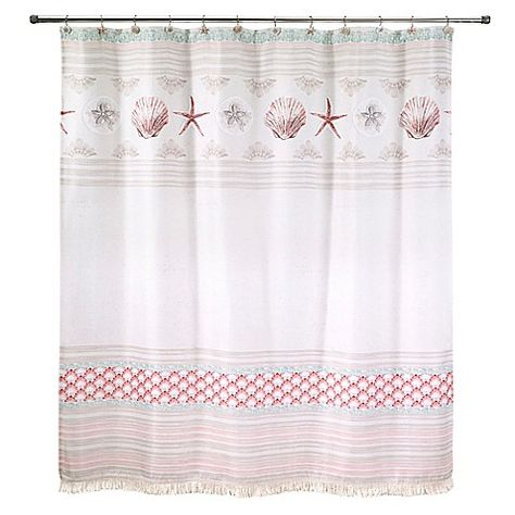 Avanti Coronado 72 Inch Multicolor Shower Curtain Shower Curtain