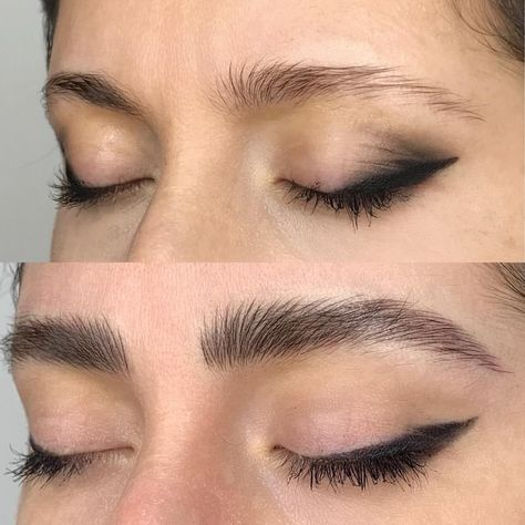 Microblading Before and After : Illustration