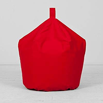 Fantastic Childrens Kids Cotton Drill Bean Bag Bright Red Seat Andrewgaddart Wooden Chair Designs For Living Room Andrewgaddartcom