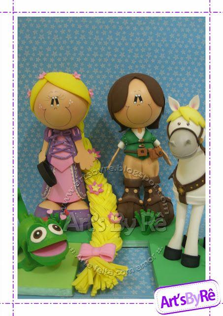 Fofuchos on Pinterest | Manualidades, Bebe and Rapunzel