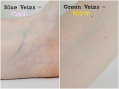 green veins meaning