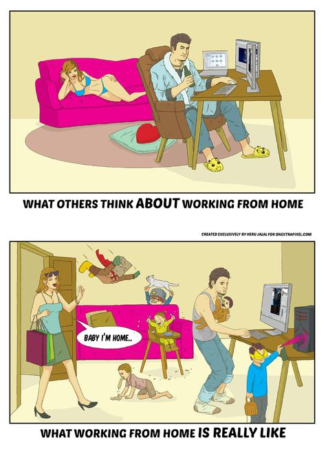 Presumption and Hard Truth of Working From Home