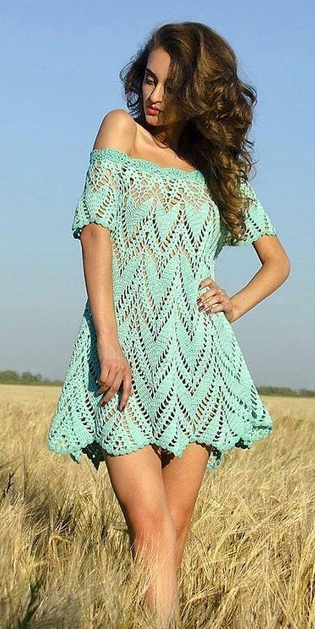 39+ Awesome Free Crochet Summer Dresses Pattern Ideas for