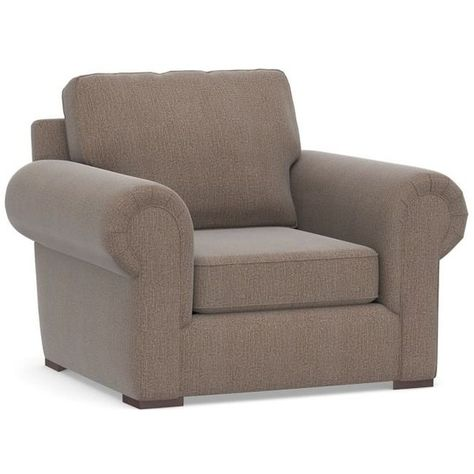 Pottery Barn Claremont Upholstered Armchair 1 399 Liked On
