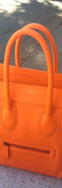 Dark Orange Purse #colorsoftheweek