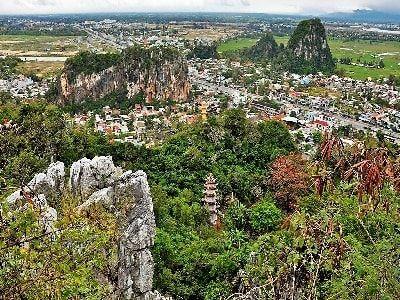 جبال الرخام في في مدينة دانانغ فيتنام Farmland Outdoor Vineyard
