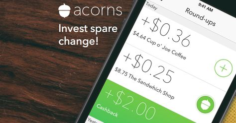 acornsapp that lets you Invest spare change