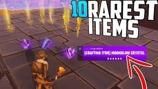 10 of the RAREST Items in Fortnite Save The World