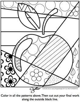 Back To School Interactive Coloring Sheet Freebie Teacherspayteache Backtoschool Art For Kids Pop Art Colors Coloring Pages
